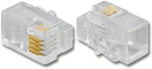 2 Prong Round Cable Plugs