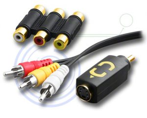 RCA Audio Adaptors, Cables & A/V Accessories