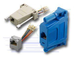 Modular to D-Sub Adaptors